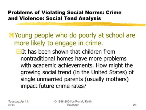 Crime As A Social Problem Essays by Ppt Soc1023g Social Problems Problems Of Violating Social Norms Crime And Violence
