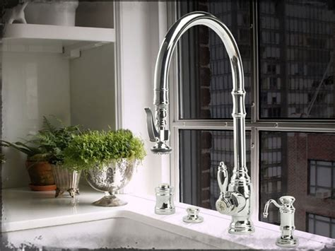 High End Kitchen Faucets Brands waterstone high end kitchen faucets clarke living
