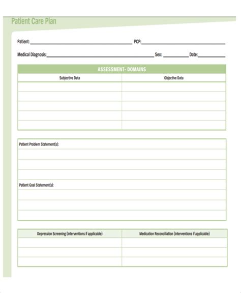 8 Basic Care Plan Templates Free Word Pdf Format Download Free Premium Templates Daily Care Plan For Elderly Template