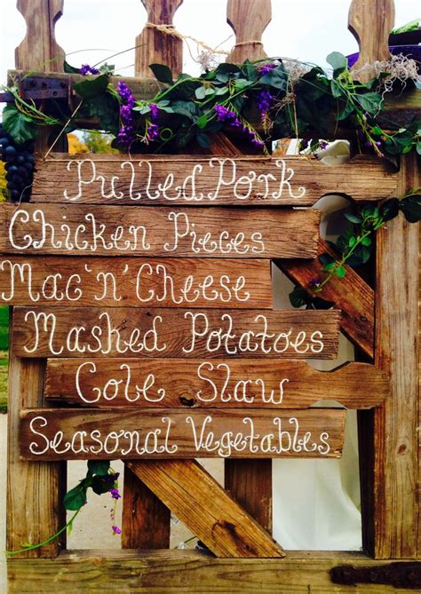 fall country wedding decorations 25 best ideas about fall wedding menu on
