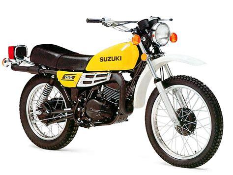 suzuki ts250 model history