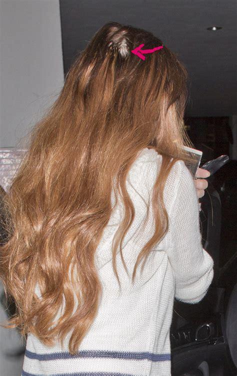 haartransplantation wann fallen die haare aus haarausfall lindsay lohans kopf wird kahl promiflash de
