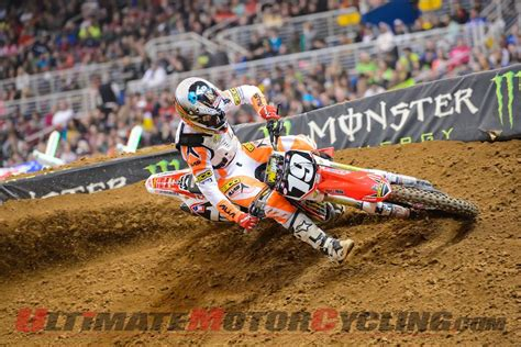 motocross gear toronto geico honda s hahn leads to toronto supercross