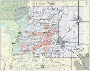 map of boulder colorado and surrounding area boulder county colorado geological survey