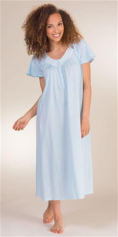 cotton knit nightgown serene comfort