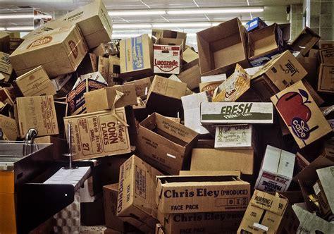 stack  cardboard boxes sainsburys watford