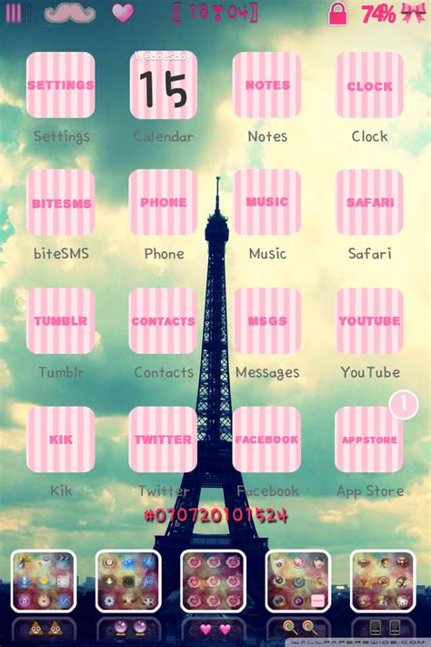 cute iphone themes kik wallpaper wallpapersafari