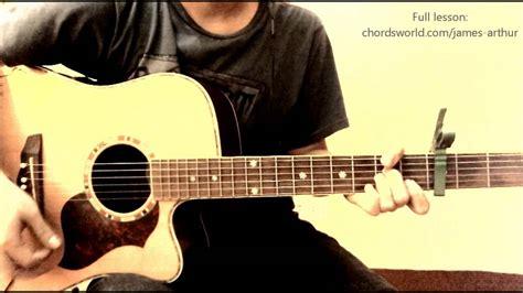 tutorial impossible guitar impossible chords quot james arthur quot chordsworld com guitar