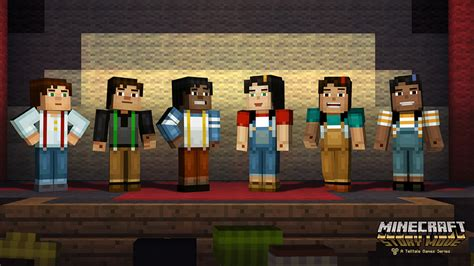 Minecraft: Story Mode hands on: This one's for the fans