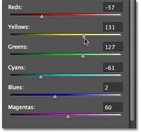 color slider non destructive infrared glow effect in photoshop