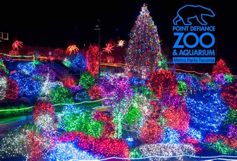 zoo light seattle point defiance zoolights 2011 a million cool things to