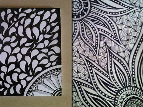 Zen Of Design Patterns by Zentangle Pattern By Shailendra Dribbble