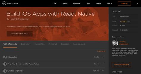 react native ios app tutorial learn to develop native apps with react native
