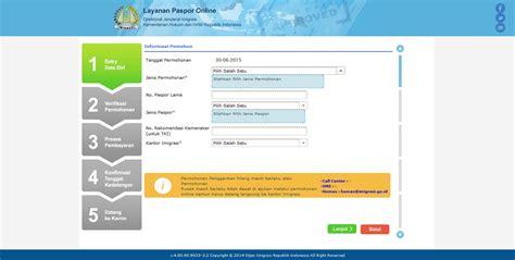cara membuat paspor online bandung cara membuat paspor online dengan mudah jasapaspor co id