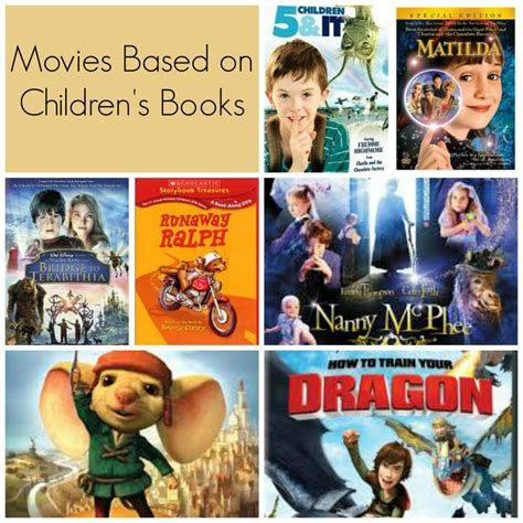 list of biography films movies based on children s books big list of literature