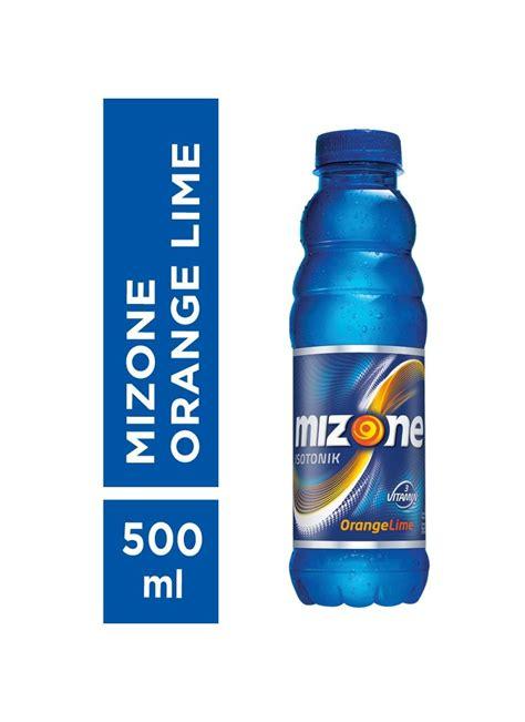 Minuman Bernutrisi mizone minuman bernutrisi orange lime btl 500ml