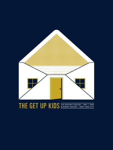 Setelan Kidssold Out the get up concert poster by smith sold out