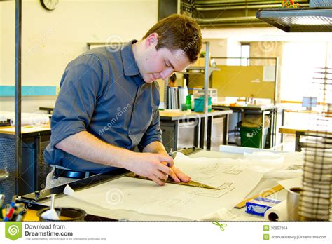 college work college student drafting architecture stock images image