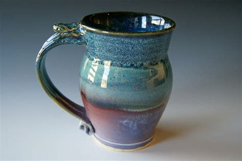 Handmade Mug Designs - pottery coffee mug handmade wheel thrown pottery ceramic clay