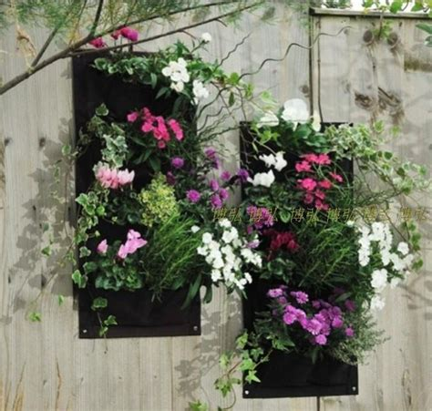 Hanging Vertical Garden Planters 15novelty 4 Pockets Vertical Garden Planter Wall Mounted