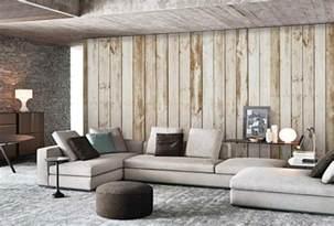 papiers peints salon papiers peints aspect bois et inspiration nature en 47