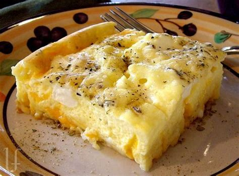 Egg Cottage Cheese Bake by Cheesy Egg Bake Recipes