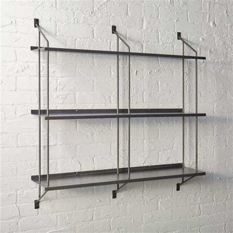 wall shelf stretch modular wall shelf cb2