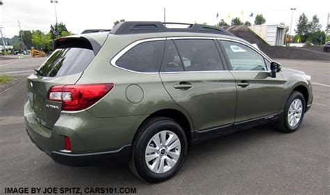subaru wilderness green 2017 2016 subaru outback kelley blue book and car