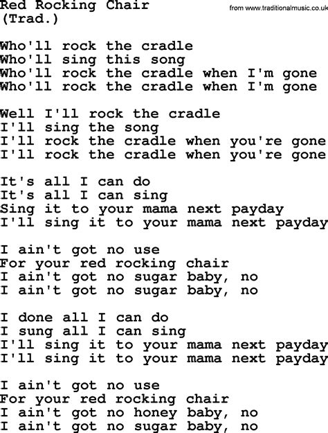 rocking chair song lyrics rocking chair by the byrds lyrics with pdf