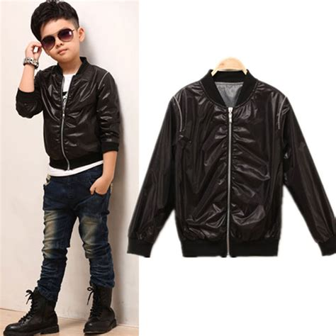 Jaket Boy Black 1 popular boys motorcycle jacket buy cheap boys motorcycle
