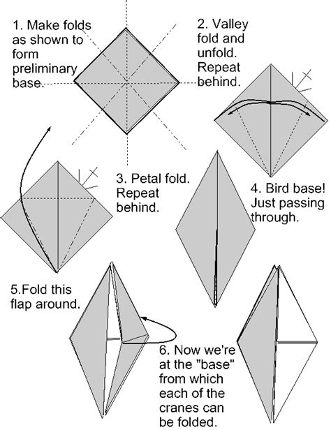 How To Make An Origami Bird Base - origami bird base driverlayer search engine
