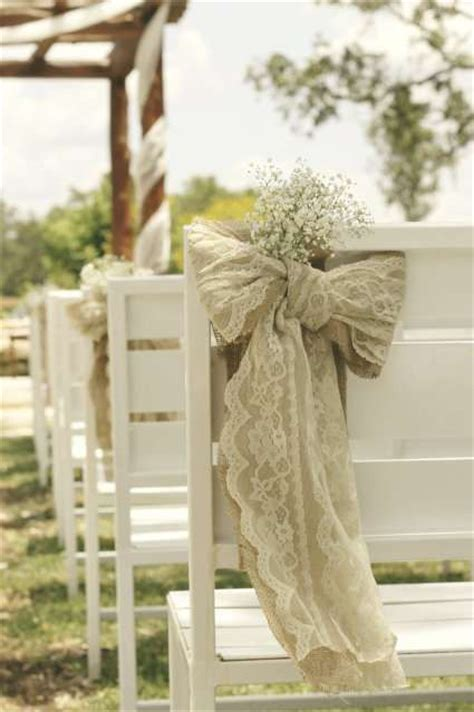 make your own chair covers for weddings create your own lace and burlap bow wedding chair cover