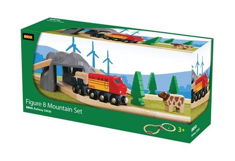 brio wooden train set special edition 33020s brio figure 8 mountain set railway