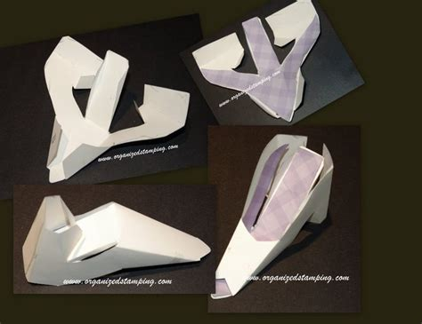 high heel paper shoe template pin by carol clemons on paper shoes