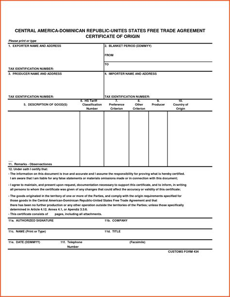 Letter Certificate Of Origin Country Of Origin Certificate Form Sle Payslip Format Doc