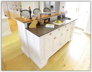 Free Standing Kitchen Island With Breakfast Bar by Rustic Farmhouse Hardwood Flooring House Design And