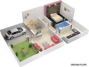 Home Design 25 X 40 3d Duplex House Plan Amazing Architecture Magazine
