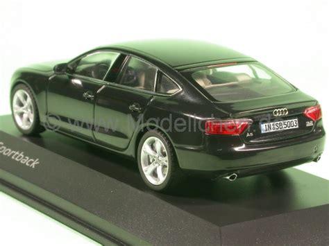 Audi A5 Modellauto by Audi A5 Sportback Schwarz Modellauto Schuco 1 43