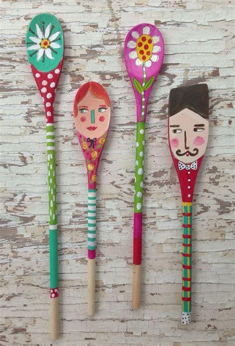 wooden spoon crafts for folk spoon dolls wooden spoon doll linguri de lemn