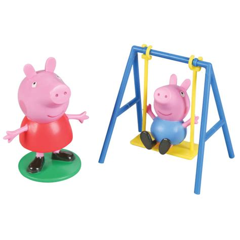 peppa pig swing peppa pig swing set decoset 174 decopac