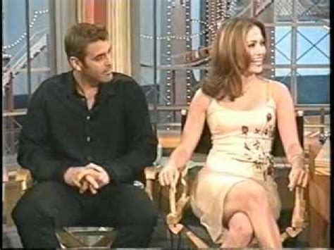 george clooney jennifer lopez 63993 jlo george clooney on rosie o donnell in 1998 part 3