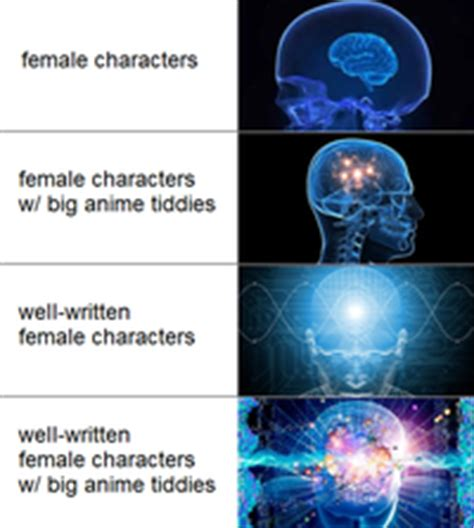 Brain Meme Generator - not everybody likes the thicc expanding brain know