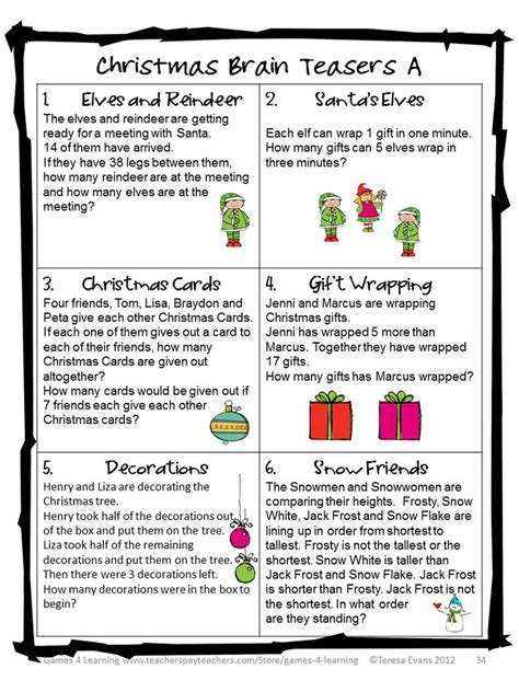 printable jokes and riddles for seniors image result for printable christmas riddles for adults