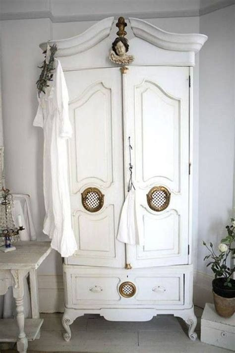 vintage wardrobe shabby chic