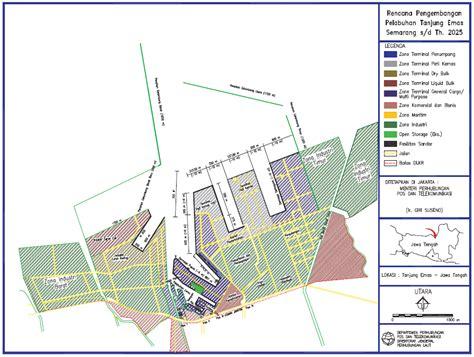 layout pelabuhan makassar mega proyek modernisasi pelabuhan tanjung emas semarang
