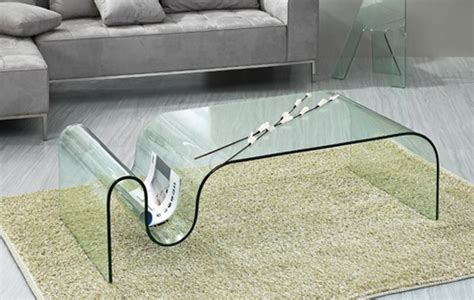 15 Contemporary Glass Coffee Table Designs Rilane Swirl Glass Coffee Table
