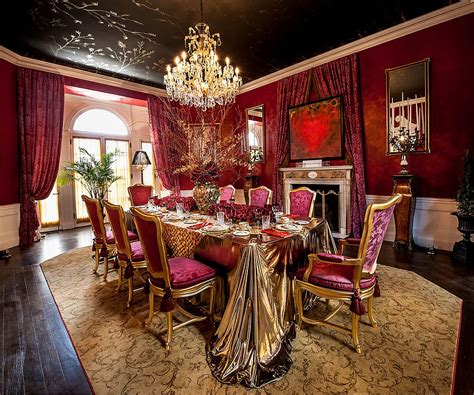 Gold Dining Room Luxury All The Way 15 Awesome Dining Rooms Fit For Royalty