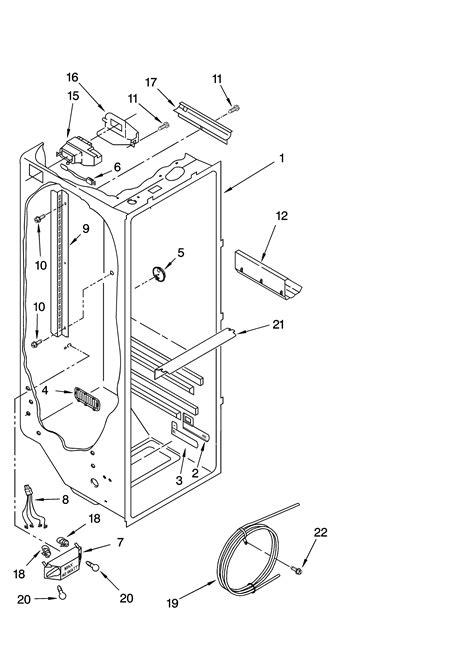 kenmore refrigerator parts diagram kenmore coldspot refrigerator wiring diagram circuit and