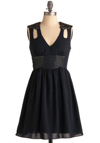 Ll Dress Fara Navy navy i ll go dress mod retro vintage dresses modcloth