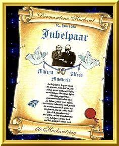 Hochzeit 67 5 Jahre by Hochzeit And On